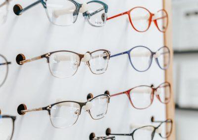 Eyeglasses at Miller Optical in Lancaster, PA